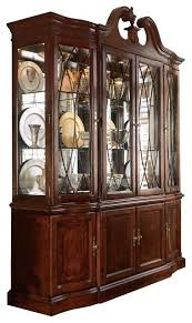 cherry wood china cabinet cherry china cabinets exclusive idea cabinet drew grove breakfront