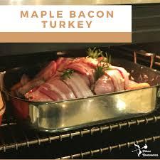 maple bacon thanksgiving turkey paleo whole30 cavewoman