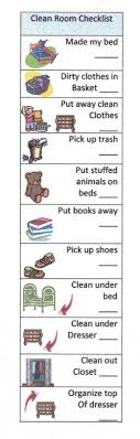 cleaning bedroom checklist help your child succeed with a clean room checklist room parents