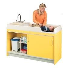 Folding Table With Sink Diaper Changing Stations And Commercial Changing Tables For