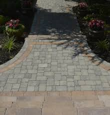 Pictures Of Stone Walkways by Walkway Landscape Design Autumn Leaf Landscape Design