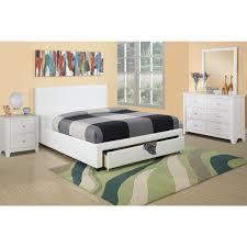 storage ideas outstanding storage bed queen white white headboard