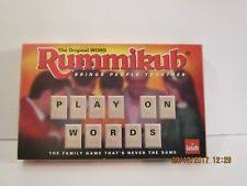 goliath 2 players rummikub modern board u0026 traditional games ebay