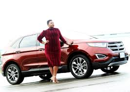 ford crossover 2016 a and her dream car 2016 ford edge titanium lion hunter