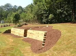 landscape timber retaining wall u2013 simplir me