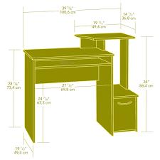 Orchard Hills Computer Desk With Hutch by Furniture L Shaped Office Desk With Hutch Sauder Computer Desks