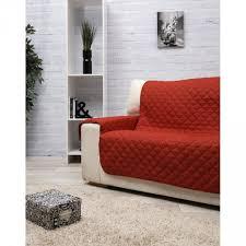 protège canapé protège canapé 3 places uni dessus de chaise jeté de