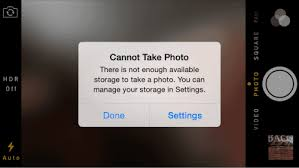 Iphone Cannot Take Photo | iphone ipad fix cannot take photo error