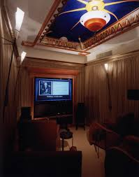 movie theater in home interior beautiful home theater in living room design ideas with