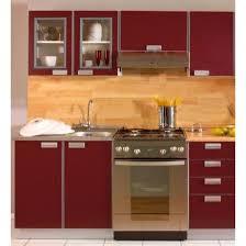 cuisine bordeaux mat cuisine complète opale bordeaux 1m80 5 meuble achat vente
