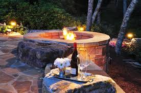 Images Of Backyard Fire Pits by Backyard Landscaping Costs Landscaping Network