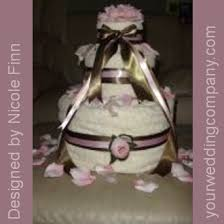 towel cakes bridal shower towel cake