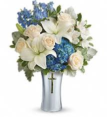 murfreesboro flower shop teleflora s skies of remembrance bouquet in murfreesboro tn