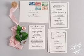 wedding invitation suite tara kevin s classic wedding invitation suite april