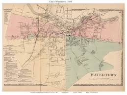 Washington New York Map by Old Maps Of Jefferson County New York Towns 1864