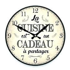 horloge cuisine pas cher horloge cuisine originale trendy pendule cuisine originale pendule