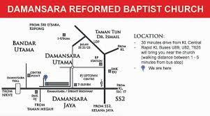 map usj 23 location map reformed baptist churches malaysia