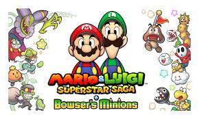 review mario u0026 luigi superstar saga bowser u0027s minions powerup
