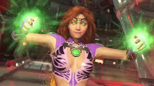 Starfire Costume Injustice 2 Starfire Costume 1 Nivel 9 Ps4 Pt Youtube