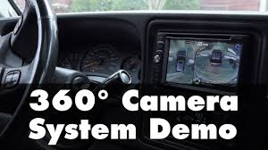 rv home theater system 360 surround view camera system rvs 77535 demo youtube