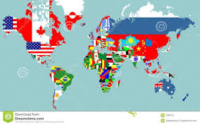 Outline Of The World Map by Outline Maps Of The World Stock Image Image 7006721