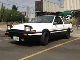 1986 toyota corolla gts hatchback for sale sell used 1986 toyota corolla ae86 hatchback trueno 20 valve