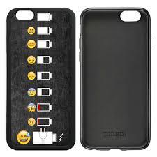 Phone Case Meme - battery life evolution funny emoji meme smiley art case for iphone 6