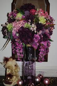 christmas holiday ideas royal purple silk topiary