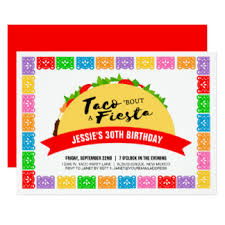 taco night cards greeting u0026 photo cards zazzle