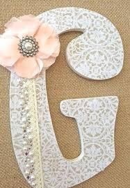 baby room letters decor