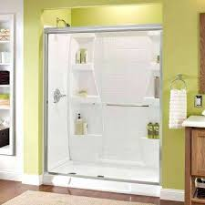 Shower Door Canada Home Depot Glass Shower Doors Delta Alcove 1117876 64 400
