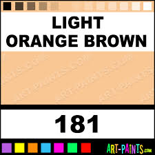 Light Brown Paint by Light Orange Brown Premium Spray Paints 181 Light Orange Brown