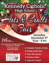 reminder kennedy catholic high u0027s arts and crafts fair is this