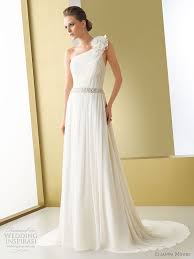 one shoulder wedding dresses 2011 elianna wedding dresses 2011 chiffon wedding dresses