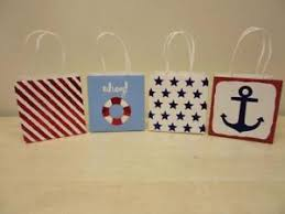 nautical gift bags 36 5 x5 x3 5 nautical gift bags for wedding reception