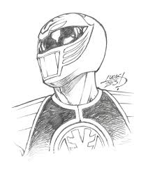 white power ranger coloring pages sketch coloring page