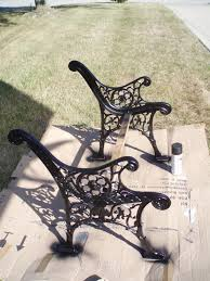 bench iron patio furniture set wonderful cast iron outdoor bench