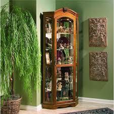 Pulaski Furniture Curio Cabinet pulaski furniture curios estate oak corner curio wayside