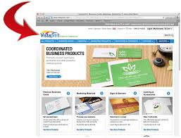 how to make business cards with vista print 5 steps