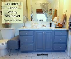 builder grade builder grade vanity makeover master bath progress sweet