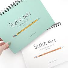 lively lined notebook mochithings