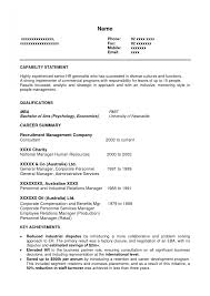 Hr Resume Format For Freshers 100 Mba Resume Sample Download Resumes Samples For Freshers