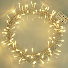 white string lights fairy lights 100 led warm white string lights 10m of clear cable