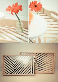 diy tray diy serving tray lovely indeed