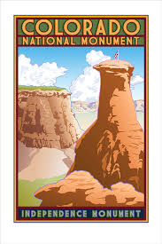 Colorado Book Travel images Colorado national monument poster eagleye creative jpg