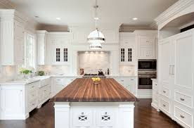 white kitchen wood island 60 kitchen island ideas and designs freshome