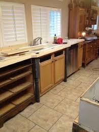 old world manufactured home kitchen remodel counter top dresser