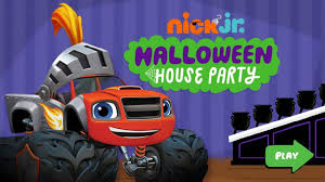 nick jr halloween house party halloween games for children english