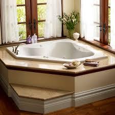 corner bathtub acrylic double hydrotherapy primo 6060