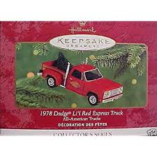 hallmark keepsake 1957 dodge sweptside d100 1999